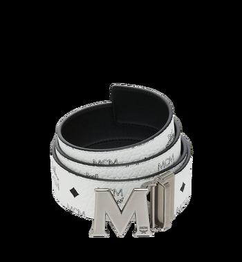 """MCM Antique M Reversible Belt 1.75"""" in Visetos MXB9SVI14WT001 AlternateView"""