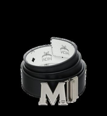 """MCM Antique M Reversible Belt 1.75"""" in Visetos MXB9SVI14WT001 AlternateView2"""