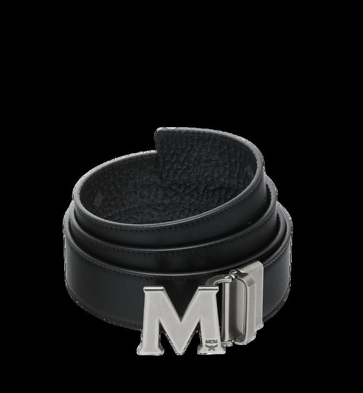 MCM 클라우스 앤티크 M 리버서블 벨트 Black MXB9SVI15BK001 Alternate View 2