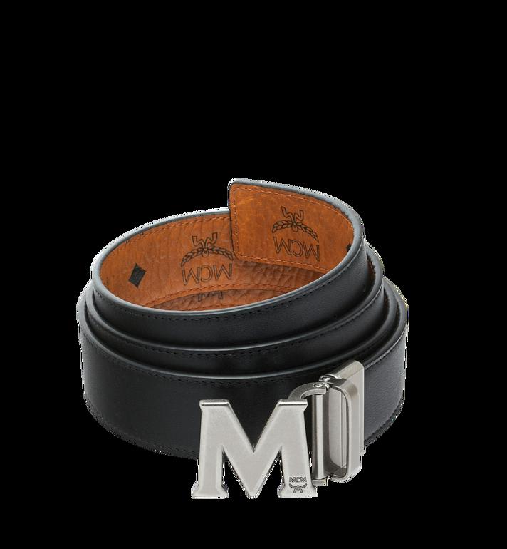 """MCM Claus Antique M Reversible Belt 1.5"""" in Visetos Cognac MXB9SVI15CO001 Alternate View 2"""