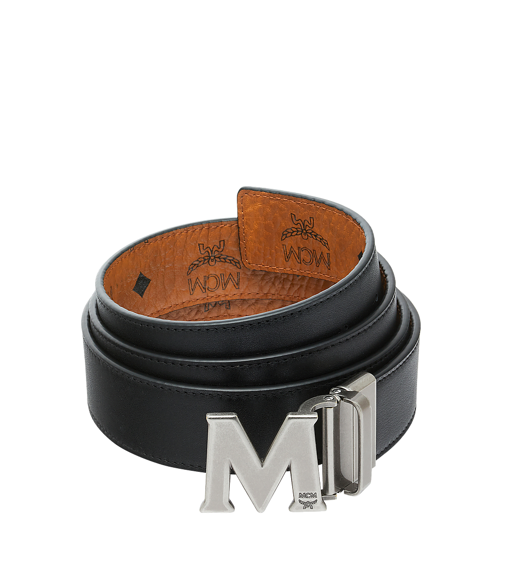 "MCM Claus Visetos""M""字双面皮带 Cognac MXB9SVI15CO001 更多视角 1"