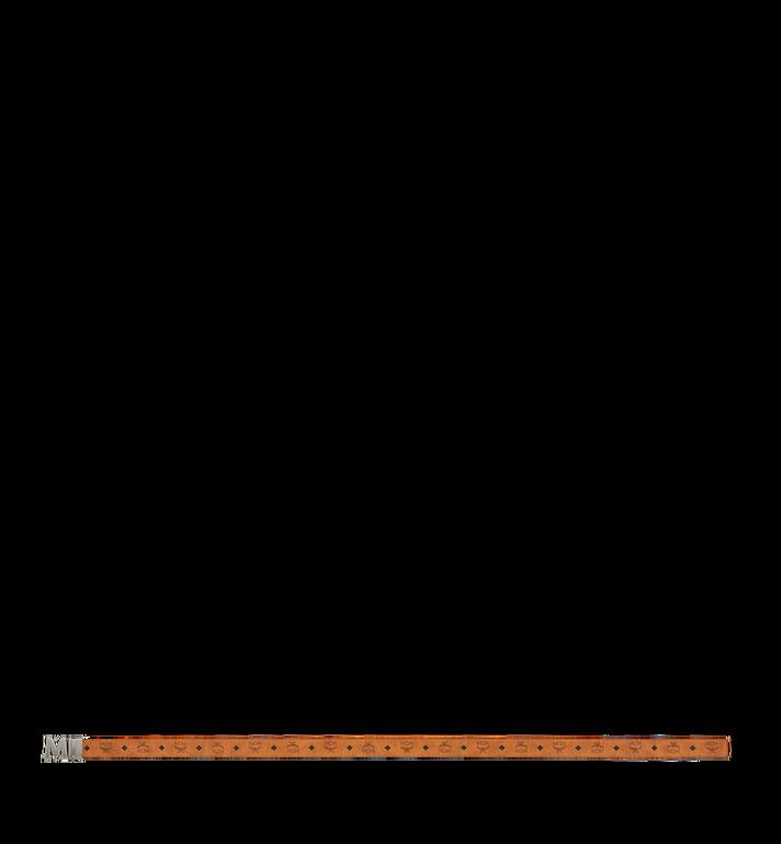 """MCM Claus Antique M Reversible Belt 1.5"""" in Visetos Cognac MXB9SVI15CO001 Alternate View 3"""