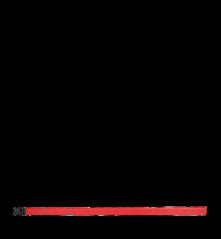 "MCM Claus Black M Reversible Belt 1.75"" in Monogram Leather AlternateView3"