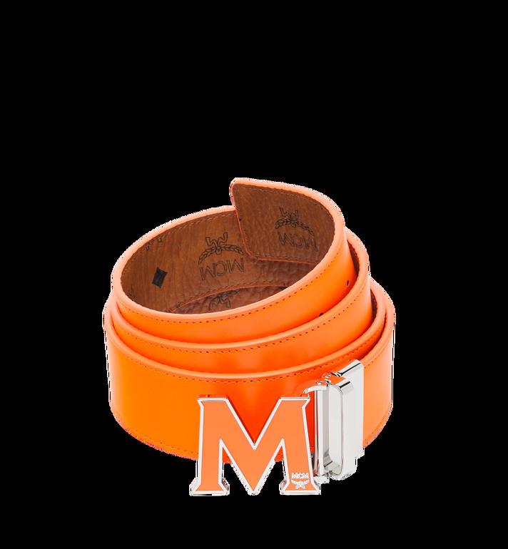 "MCM Claus Flat M Reversible Belt 1.5"" in Visetos Alternate View 2"