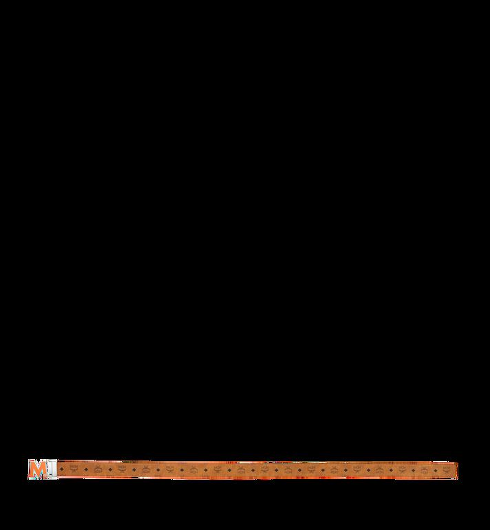 "MCM Claus Flat M Reversible Belt 1.5"" in Visetos Alternate View 3"