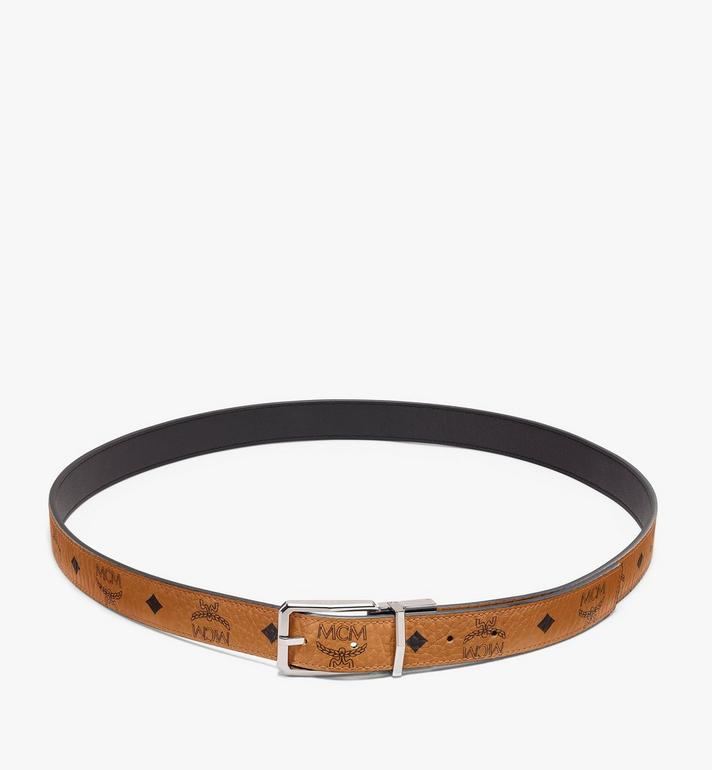 "MCM Reversible Belt 1"" in Visetos Cognac MXBAADB01CO001 Alternate View 2"