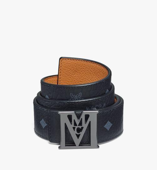 Mena M Reversible Belt 3.8 cm in Visetos