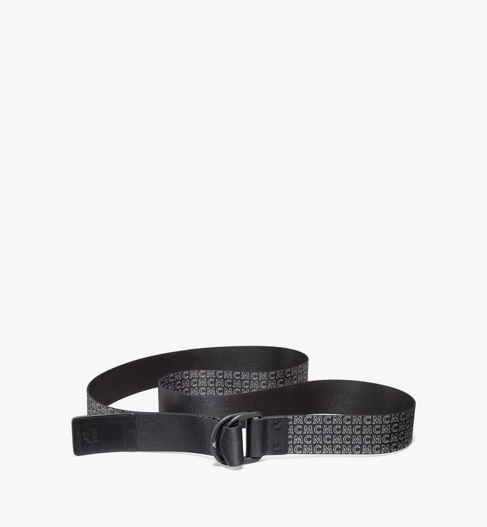 "MCM Ring Webbing Belt 1.5"" Black MXBAAMM05BK001 Alternate View 2"