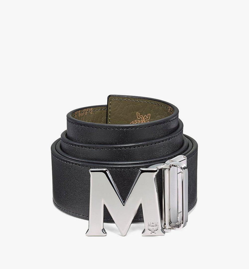 """MCM Claus M Reversible Belt 1.75"""" in Visetos Green MXBAAVI01JH001 Alternate View 1"""