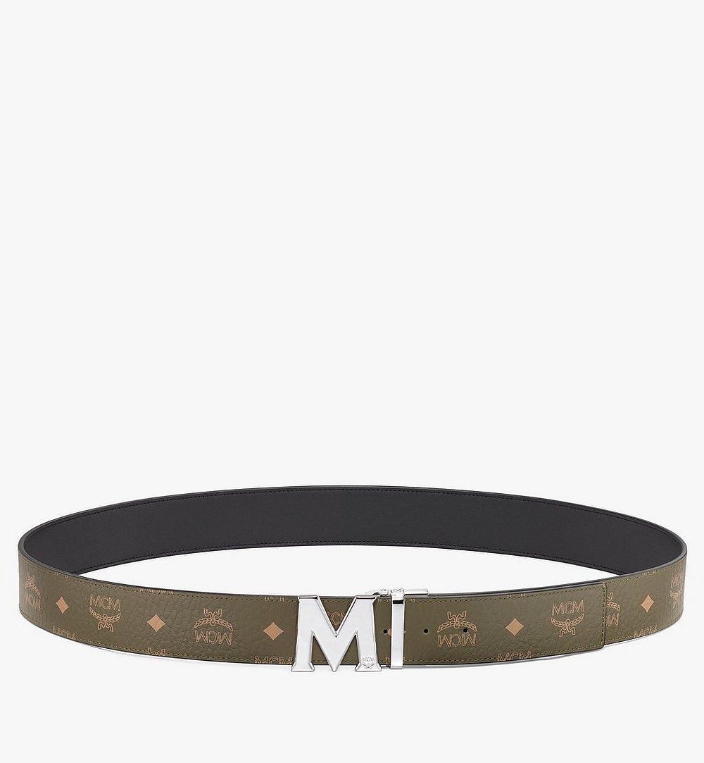 """MCM Claus M Reversible Belt 1.75"""" in Visetos Green MXBAAVI01JH001 Alternate View 2"""