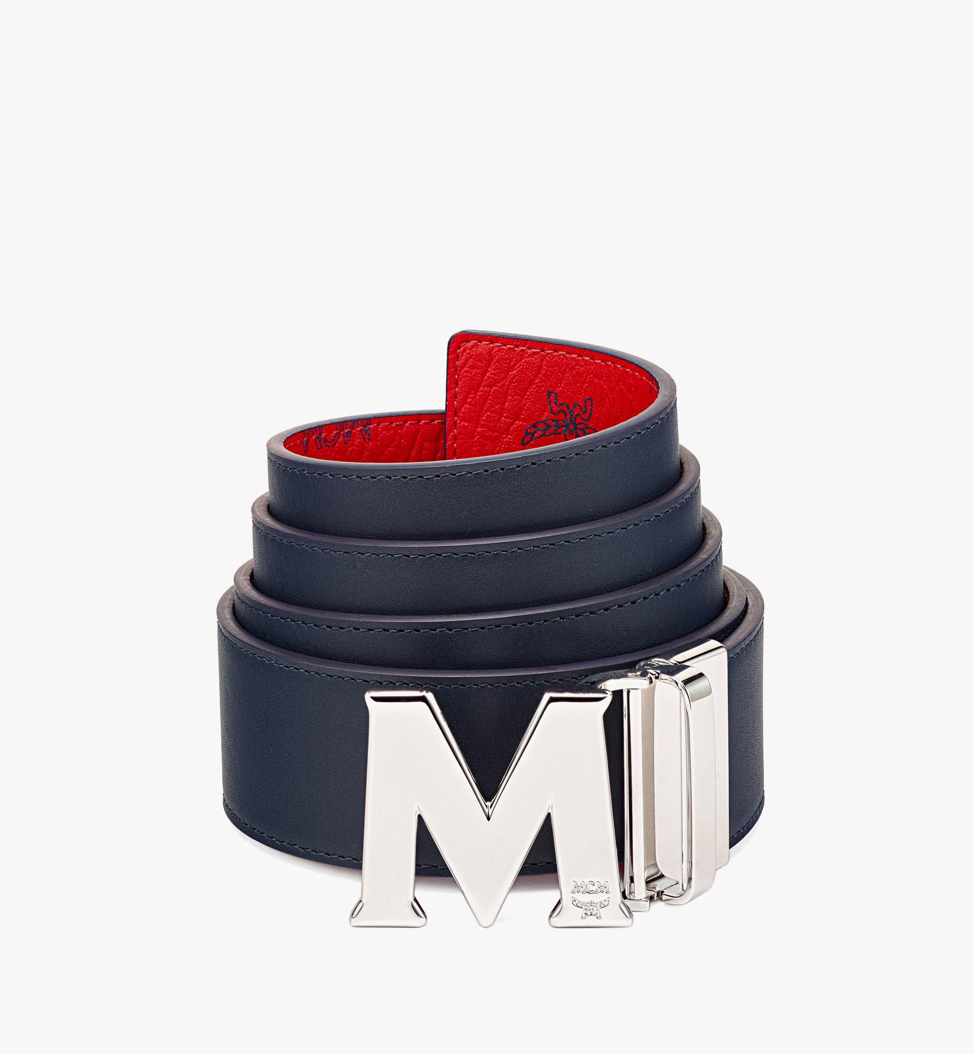 "MCM Claus M Reversible Belt 1.75"" in Visetos  MXBAAVI01XC001 Alternate View 1"