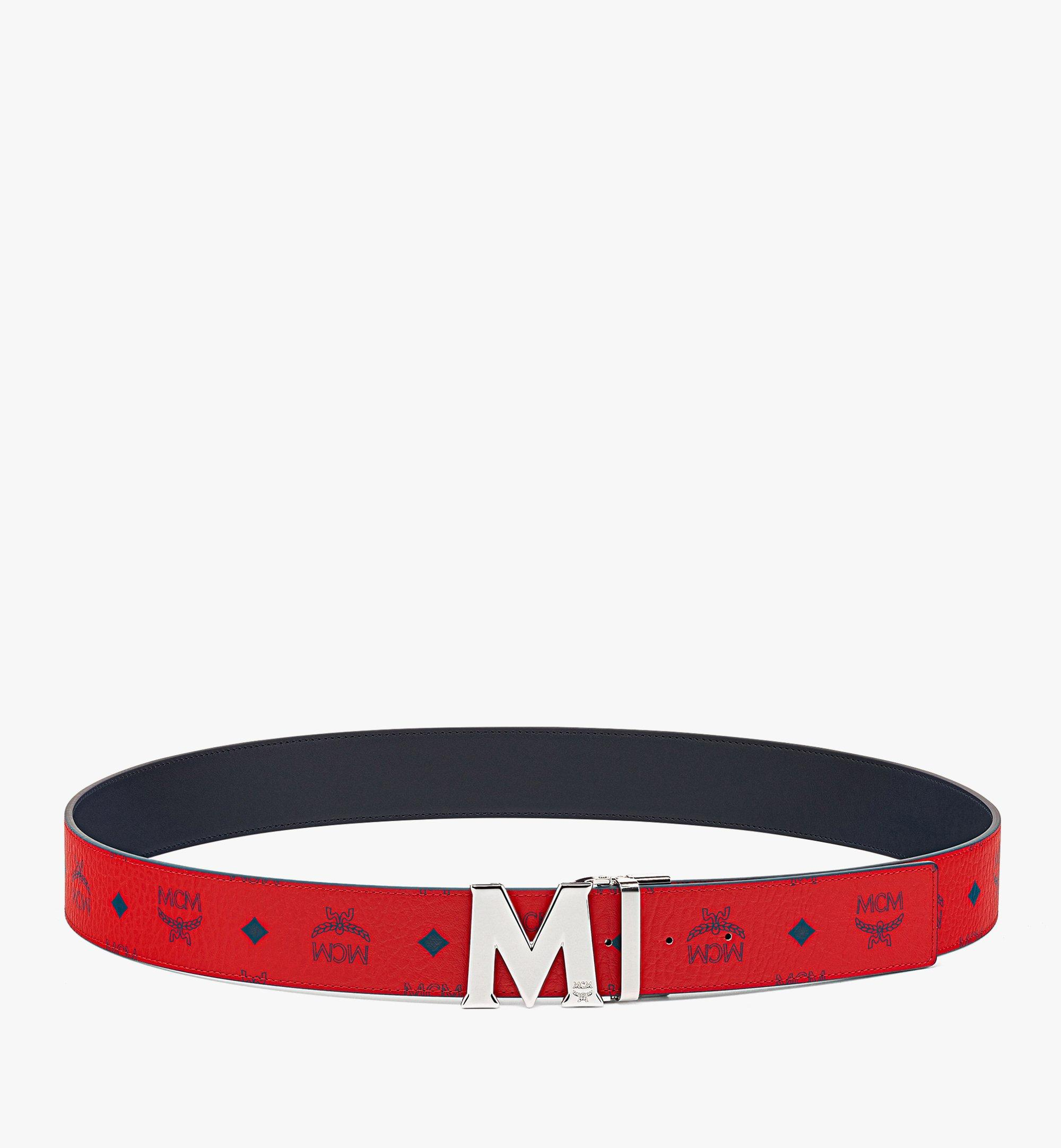 "MCM Claus M Reversible Belt 1.75"" in Visetos  MXBAAVI01XC001 Alternate View 2"