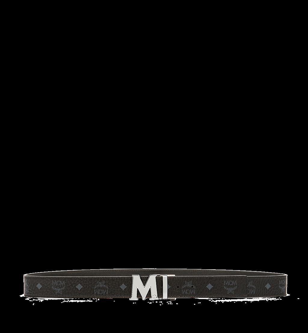 MCM Claus M Reversible Belt 3.8 cm in Visetos Cognac MXBAAVI02BK001 Alternate View 2