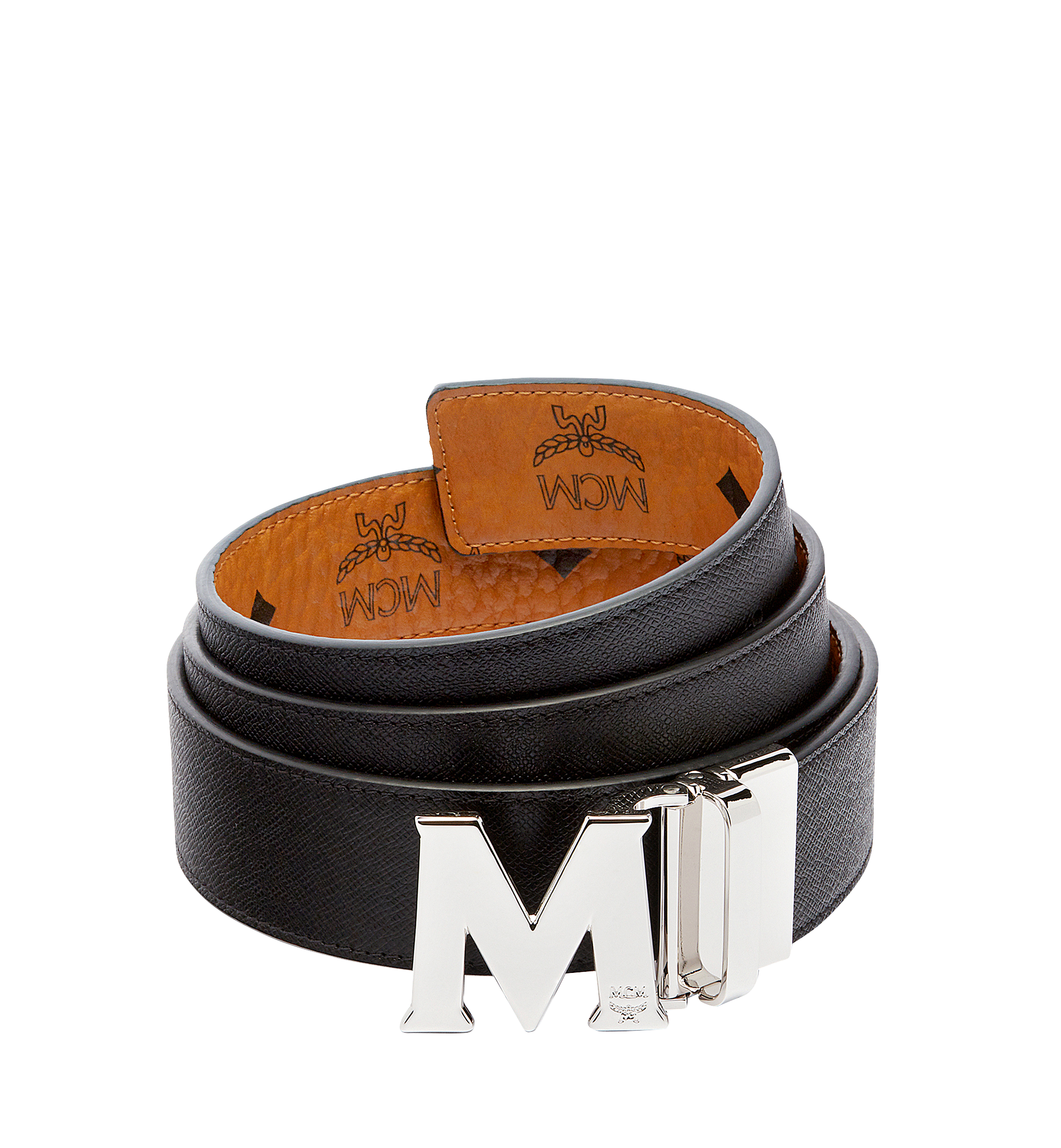 MCM Claus M Wendegürtel 3,8 cm in Visetos Cognac MXBAAVI02CO001 Noch mehr sehen 1