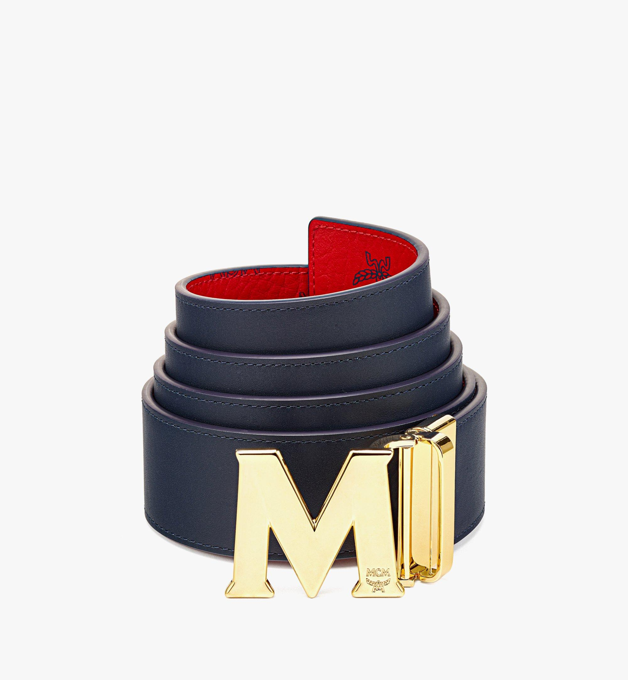 "MCM Claus M Reversible Belt 1.75"" in Visetos  MXBAAVI03XC001 Alternate View 1"