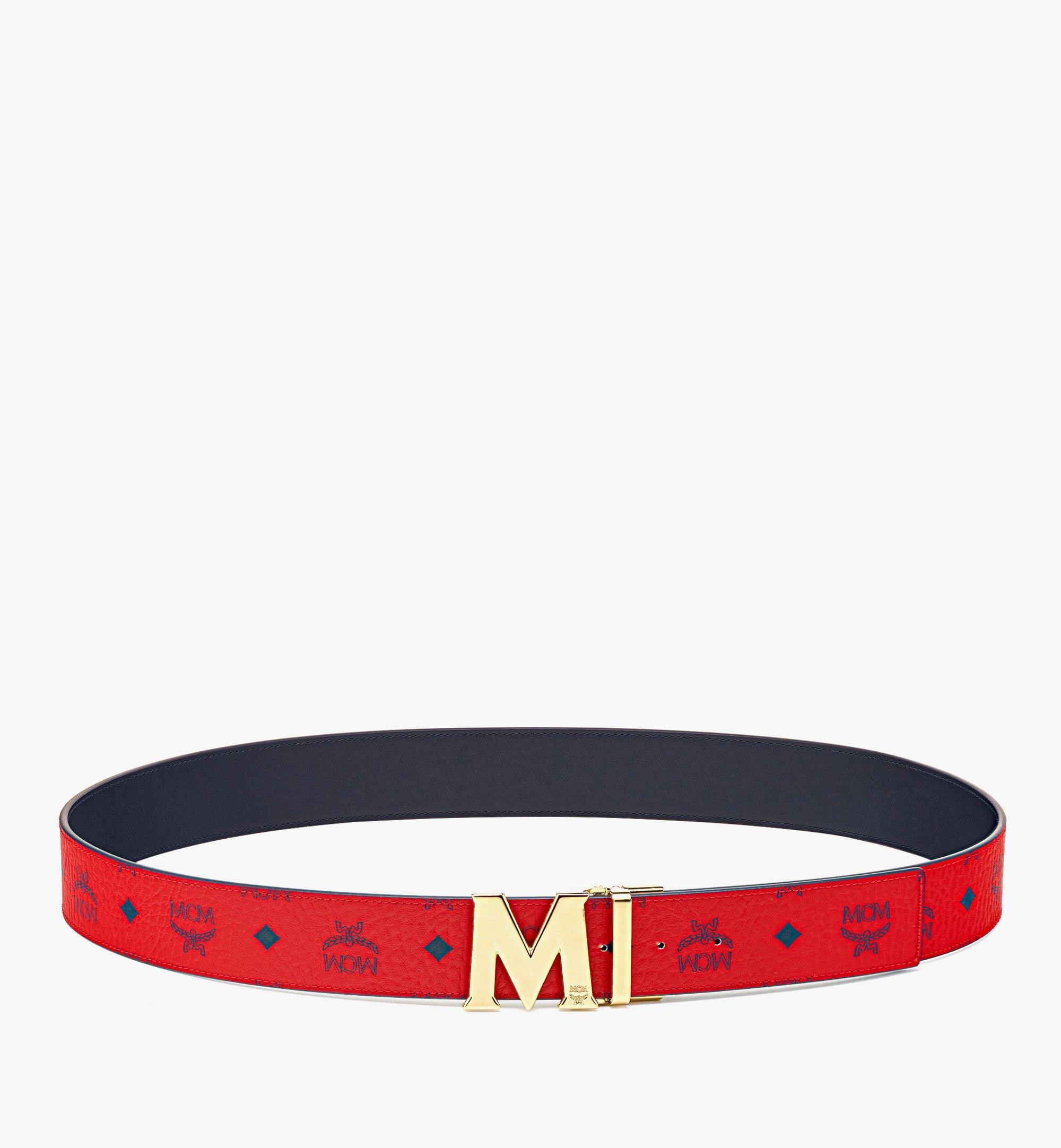"MCM Claus M Reversible Belt 1.75"" in Visetos  MXBAAVI03XC001 Alternate View 2"