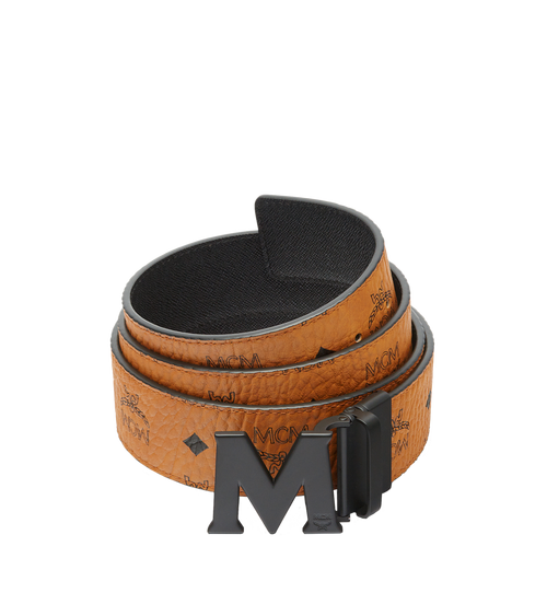 Claus Matte M Reversible Belt 4.5 cm in Visetos