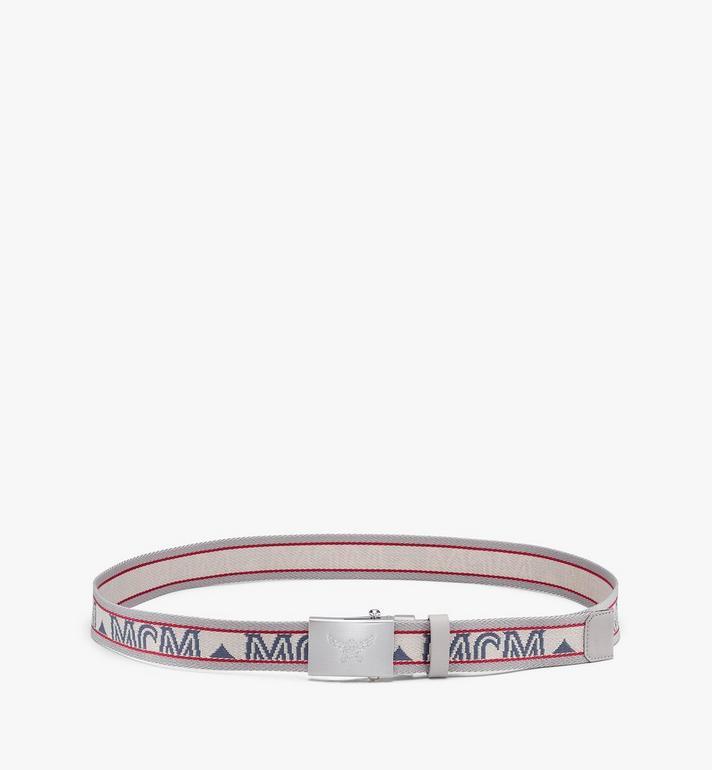 "MCM Logo Webbing Belt 1.4"" Pink MXBASMM01IH001 Alternate View 2"