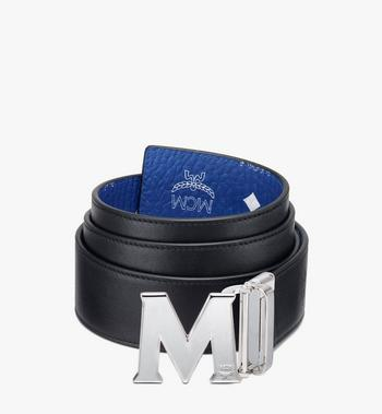 "MCM Claus M Reversible Belt 1.75"" in Visetos Blue MXBASVI11H1001 Alternate View 2"