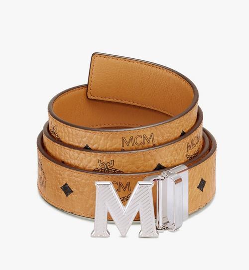 """Claus Oblique M Reversible Belt 1.5"""" in Visetos"""