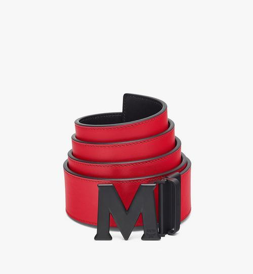 """Claus Matte M Reversible Belt 1.75"""" in Nappa Leather"""