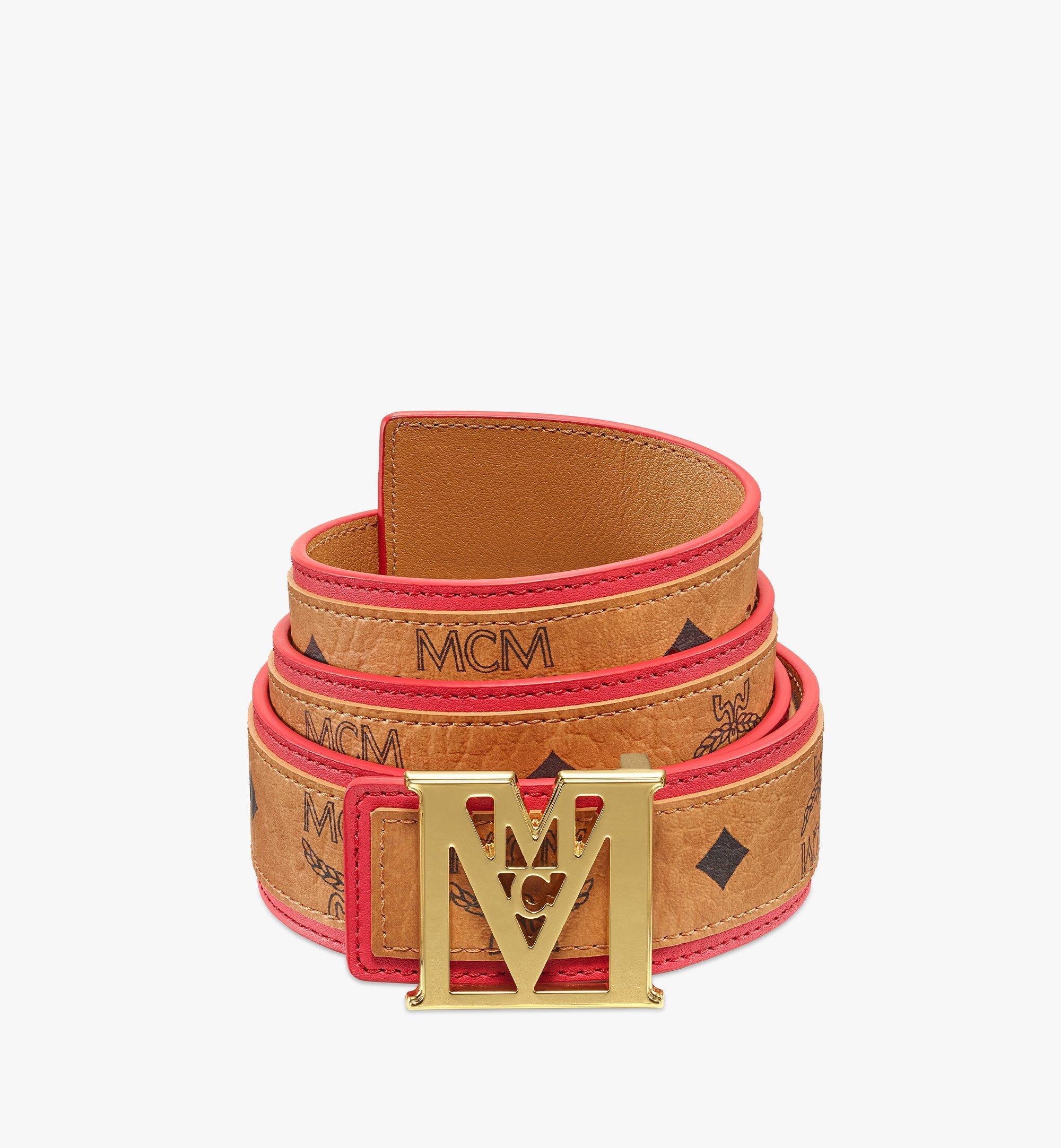 MCM Wendegürtel MenaM in Visetos, 3,8cm Red MXBBSLM03R4110 Noch mehr sehen 1