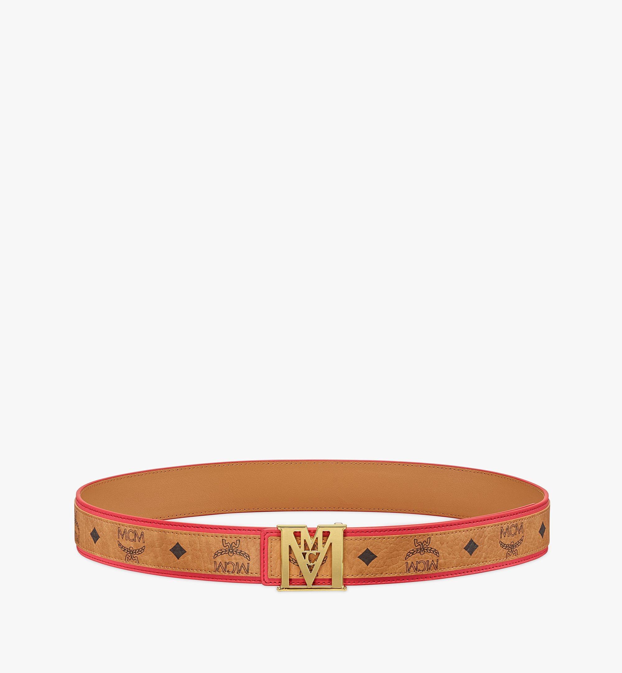 MCM Wendegürtel MenaM in Visetos, 3,8cm Red MXBBSLM03R4110 Noch mehr sehen 2
