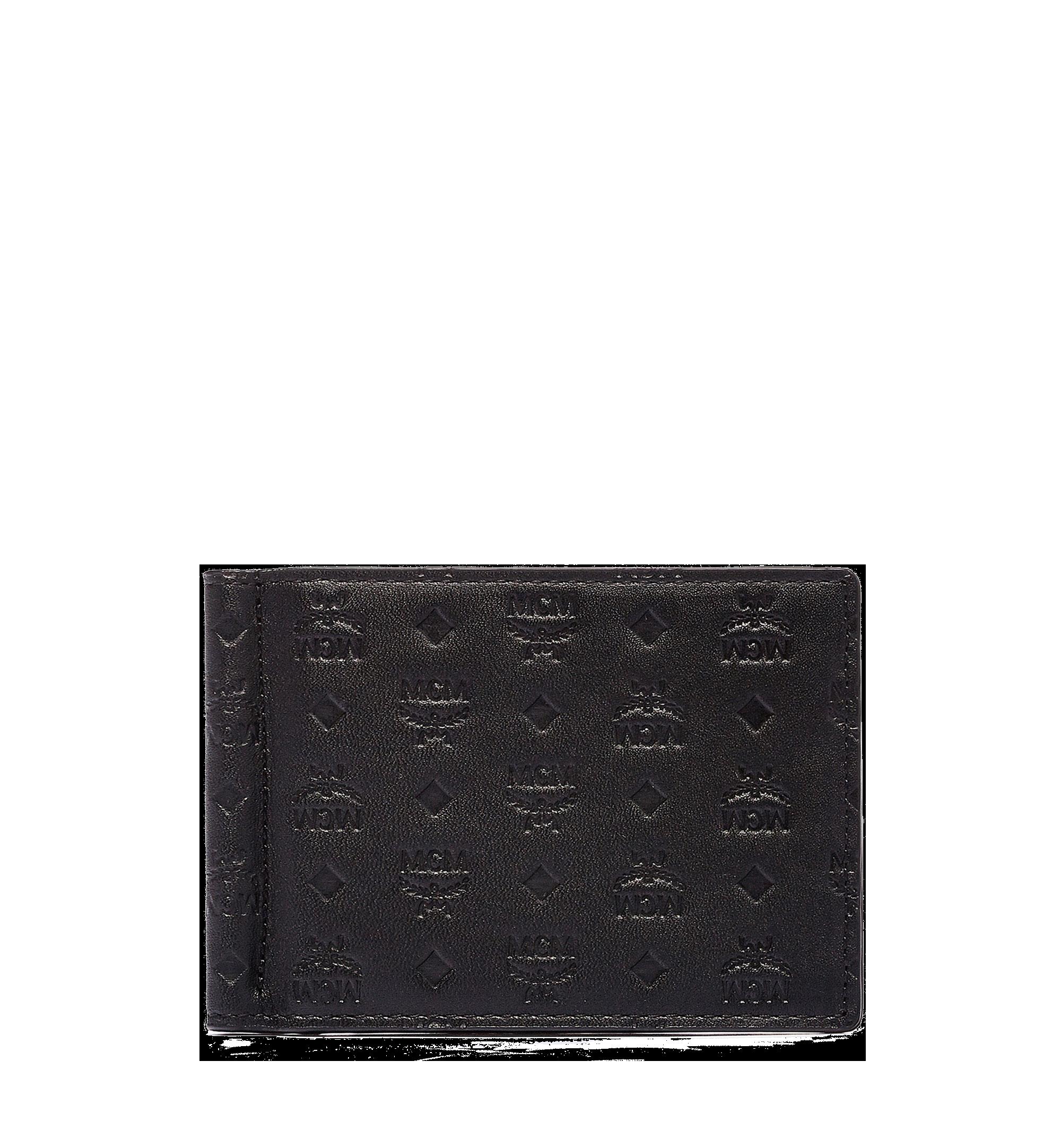 MCM 組合圖案皮革的 Sigmund 鈔票夾 Black MXC6SIE17BK001 更多視圖 1