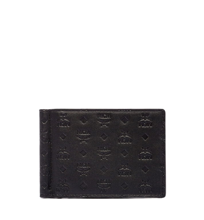 MCM Sigmund Money Clip in Monogram Leather MXC6SIE17BK001 AlternateView