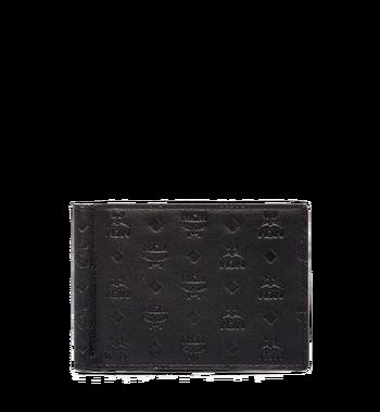 MCM Sigmund Money Clip in Monogram Leather Alternate View
