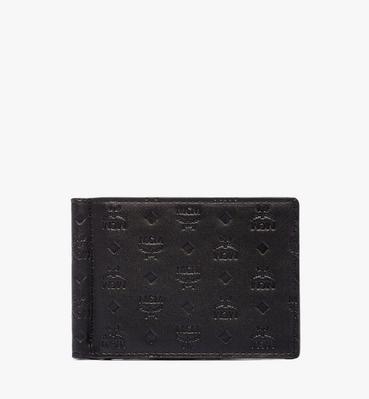Sigmund Money Clip in Monogram Leather
