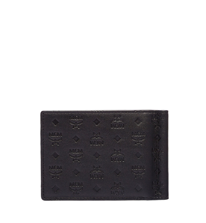 MCM Sigmund Money Clip in Monogram Leather MXC6SIE17BK001 AlternateView3