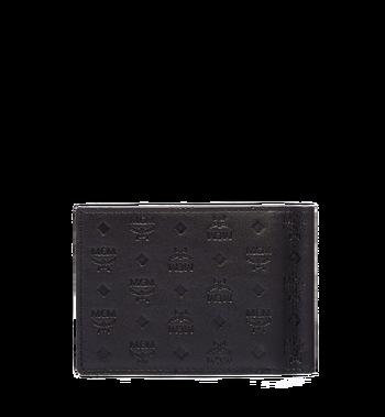 MCM Sigmund Money Clip in Monogram Leather MXC6SIE17BK001 AlternateView3