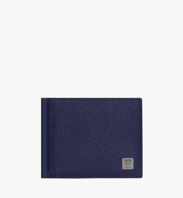 코부르크 크로스그래인 레더 머니클립 지갑