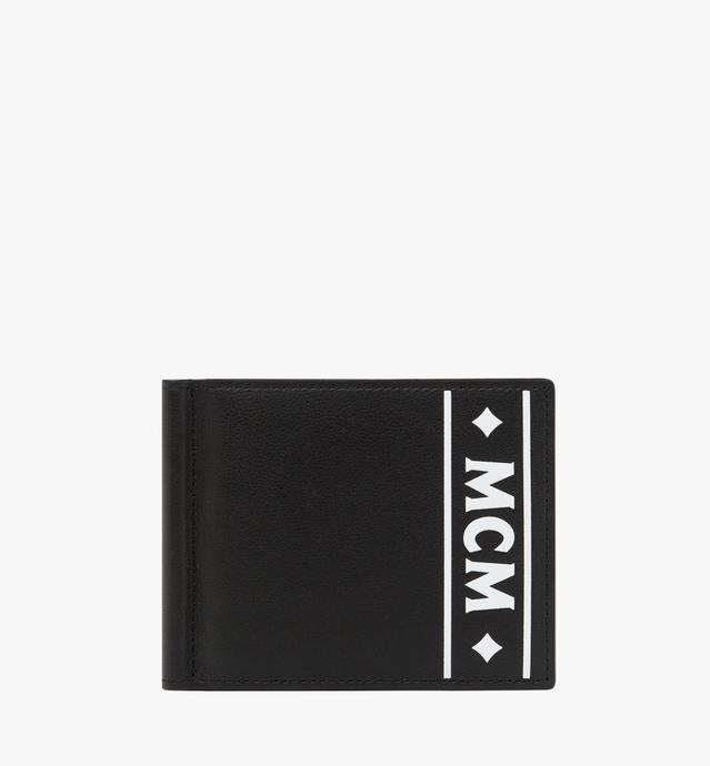 Money Clip Wallet in Coburg Logo Stripe