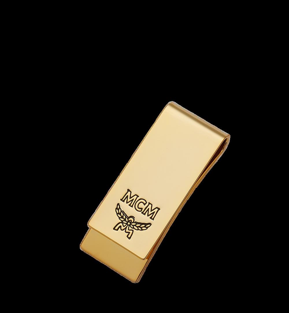 MCM Metal Money Clip Gold MXC8AVI56DG001 Alternate View 2