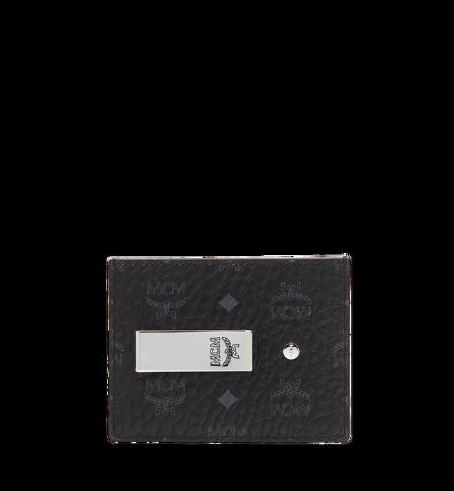 MCM Money Clip Card Case in Visetos Original Alternate View