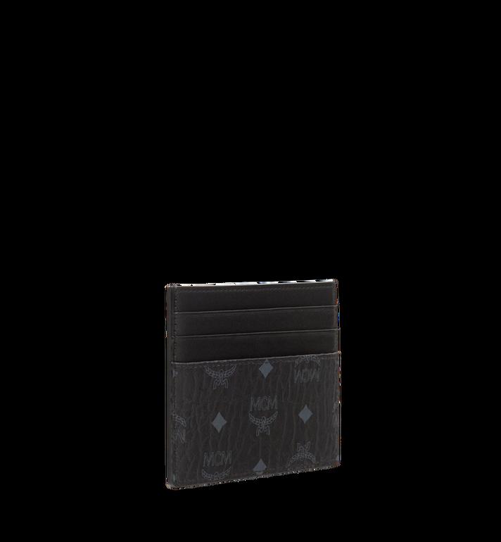 MCM Money Clip Card Case in Visetos Original Black MXC8AVI65BK001 Alternate View 2