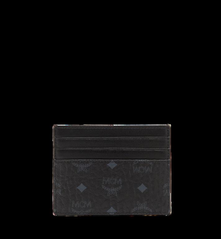 MCM Money Clip Card Case in Visetos Original Black MXC8AVI65BK001 Alternate View 3