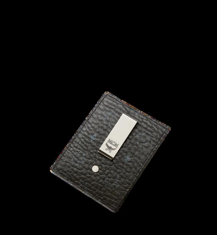 MCM Money Clip Card Case in Visetos Original Black MXC8AVI65BK001 Alternate View 4