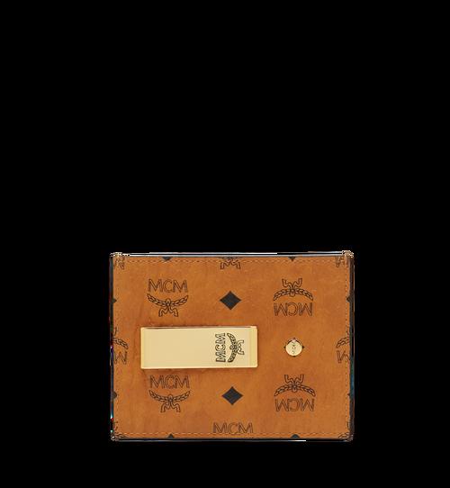 Money Clip Card Case in Visetos Original