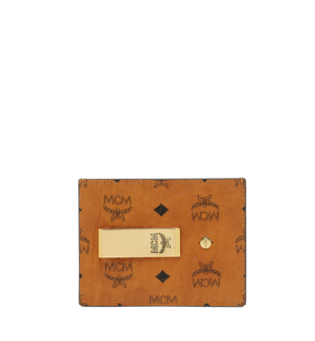 MCM Kartenetui mit Geldclip in Visetos Original MXC8AVI65CO001 AlternateView
