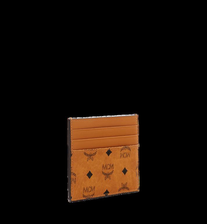 MCM Money Clip Card Case in Visetos Original MXC8AVI65CO001 AlternateView2