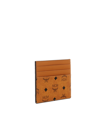 MCM Money Clip Card Case in Visetos Original Alternate View 2