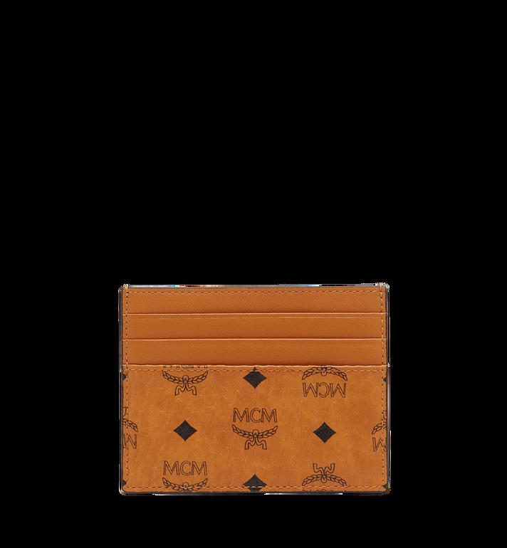 MCM Money Clip Card Case in Visetos Original MXC8AVI65CO001 AlternateView3