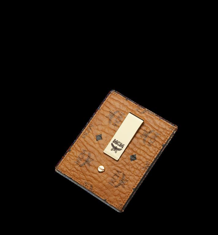MCM 비세토스 오리지널 머니클립 카드 케이스 Cognac MXC8AVI65CO001 Alternate View 4