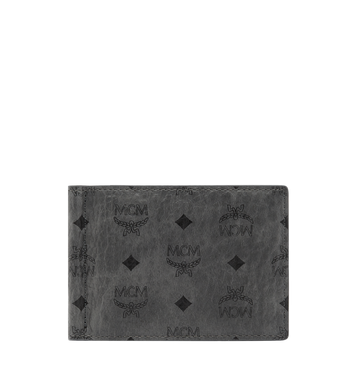 MCM Money Clip Wallet in Visetos Original MXC8AVI67EP001 AlternateView