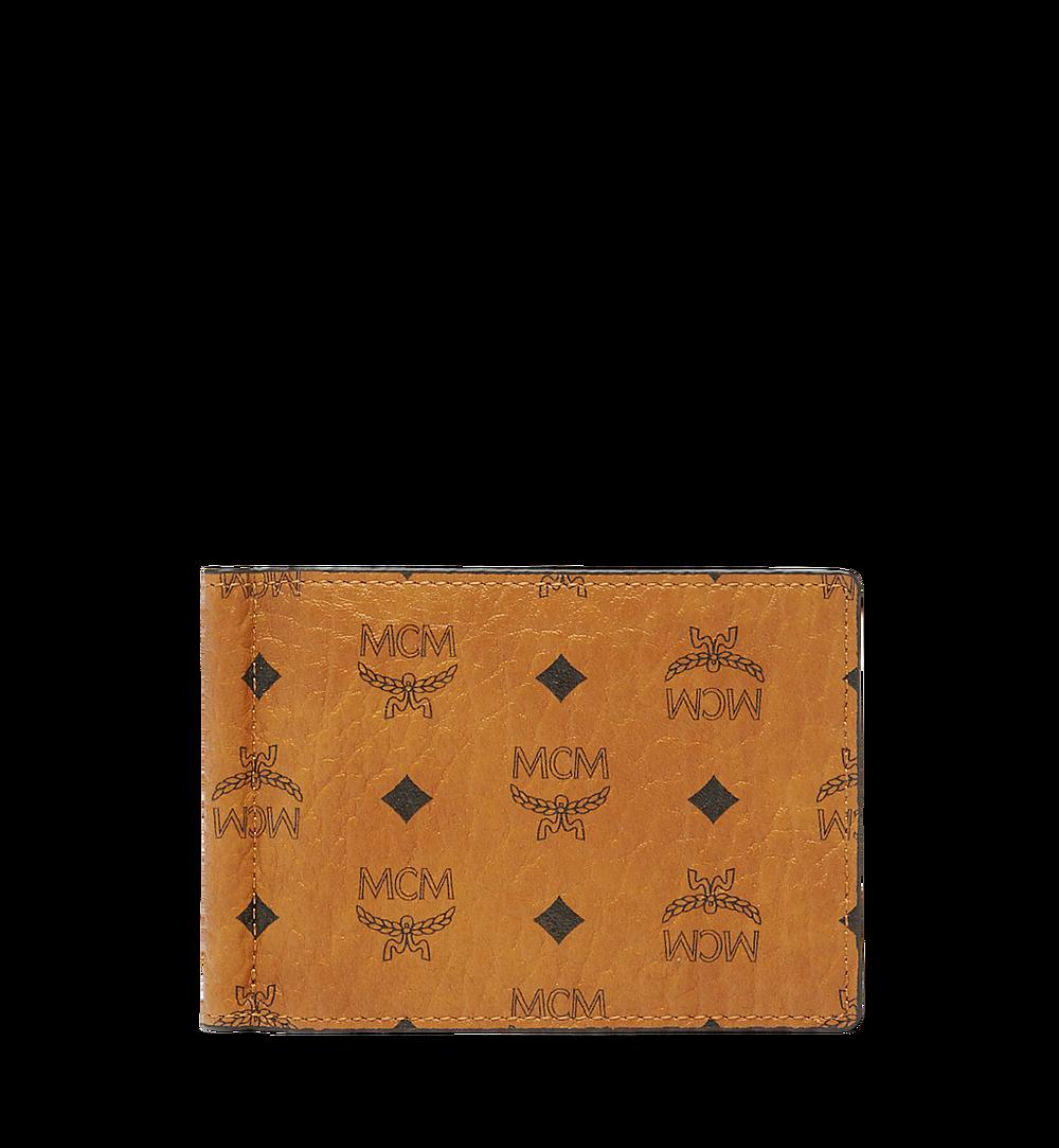 MCM Claus Money Clip in Visetos Cognac MXC8SVI67CO001 Alternate View 1
