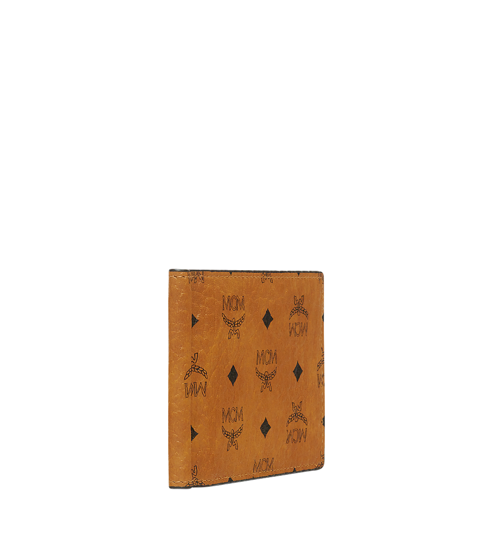 MCM 비세토스 오리지널 머니클립 반지갑 Cognac MXC8SVI67CO001 다른 각도 보기 1