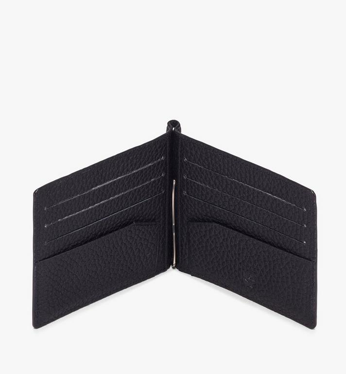MCM Tivitat Money Clip Wallet in Monogram Leather  MXC9ABT24BK001 Alternate View 3